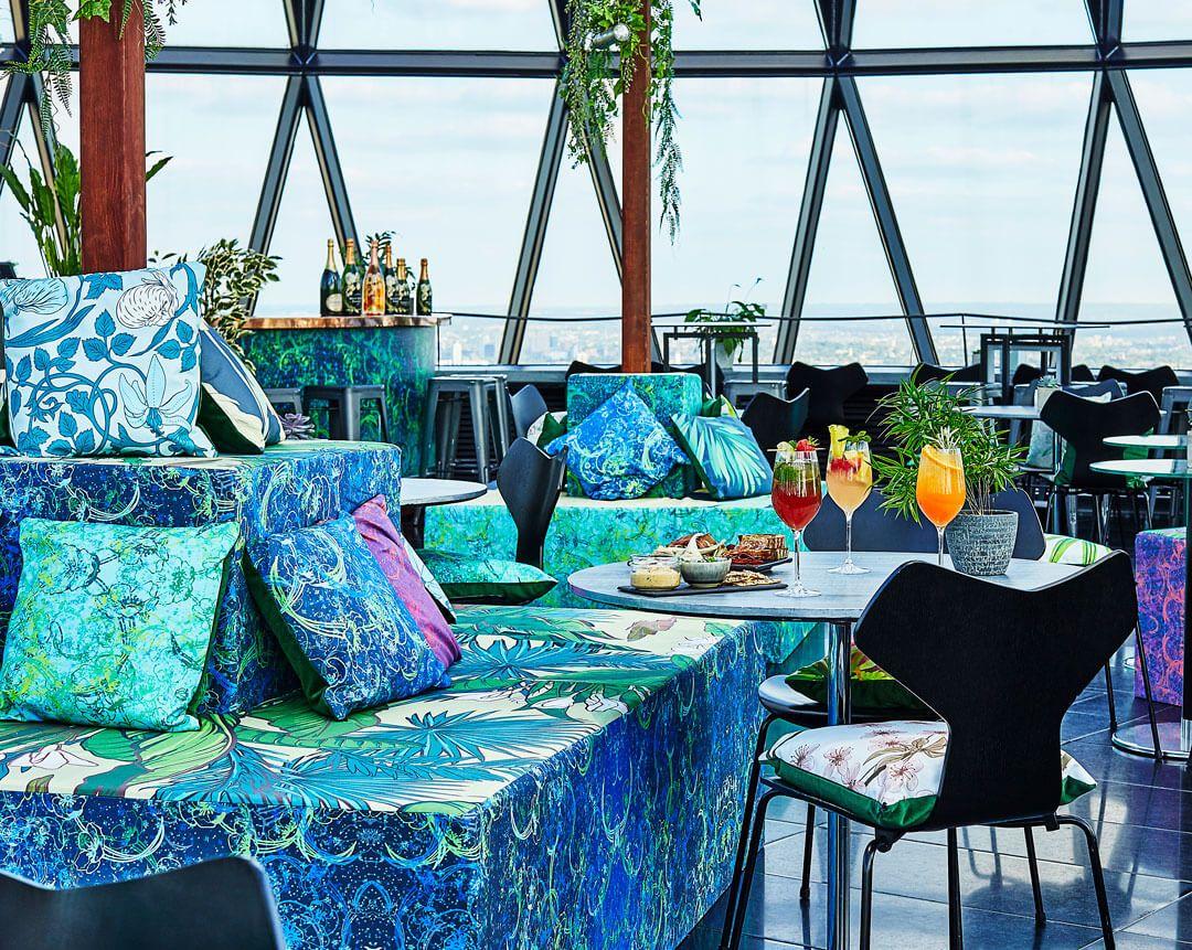 The Gherkin Restaurant Bar in the City of London | London ...
