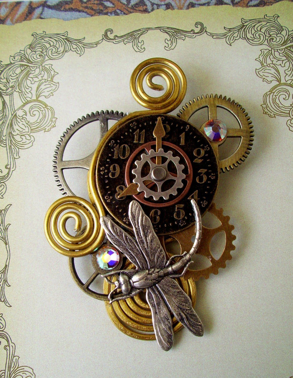 simple steampunk ideas | Aloha! Thanks for reading! I'll be back with much more FUN and ...
