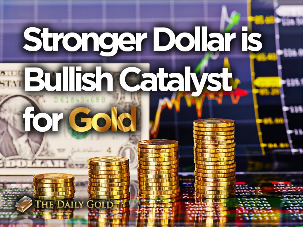Stronger Dollar is Bullish Catalyst for Gold Gold, Strong