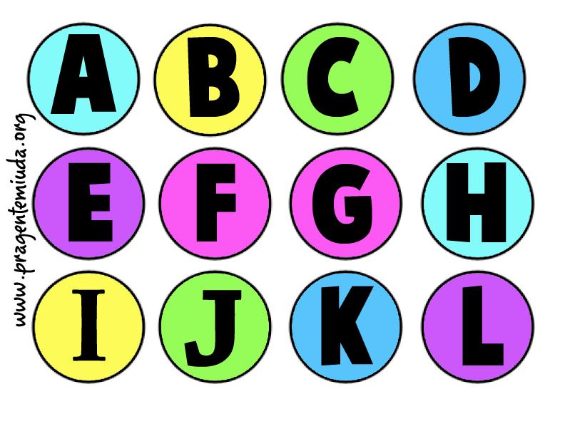 Dicas De Alfabeto Para Imprimir Colorir E Estudar Letra Do
