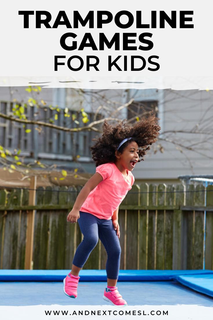 15 Super Fun Trampoline Games for Kids in 2020