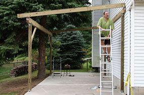Carport zelf maken   Garden ideas   Pinterest   Patios