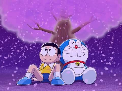 Spring Of The Two Friends Doraemon And Nobita Doraemon Cartoon Doraemon Doraemon Wallpapers Doraemon nobita wallpaper images