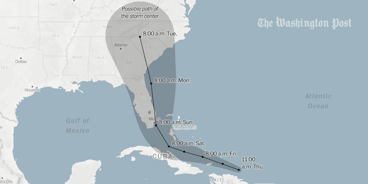 The Path Of Every Recorded Western Hemisphere Hurricane Atlantic Hurricane Category 5 Hurricane Natural Disasters