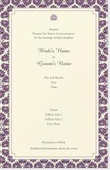 black flower elegant Invitations & Announcements