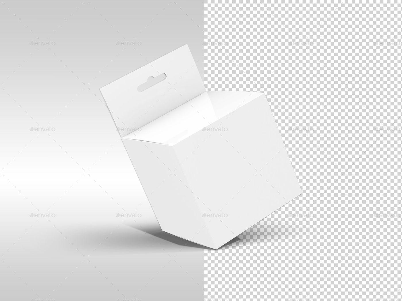 Download Hanging Square Box Mockups V1 Square Hanging Box Mockups Box Mockup Box Packaging Design Packaging Design