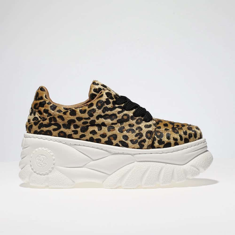 brown schuh diva trainers | schuh