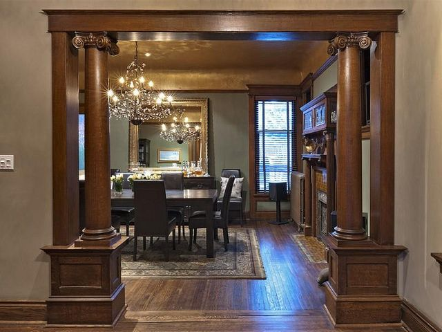 Victorian Gothic Interior Style With Images Dining Room Victorian Victorian Interior Victorian Homes