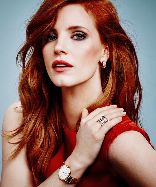Red Hair Jessica Chastain Actress Jessica Gorgeous Redhead