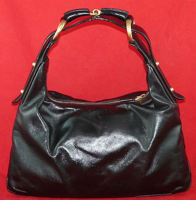 Authentic Gucci Leather Horsebit Hobo Satchel Shoulder Bag Handbag Ebay