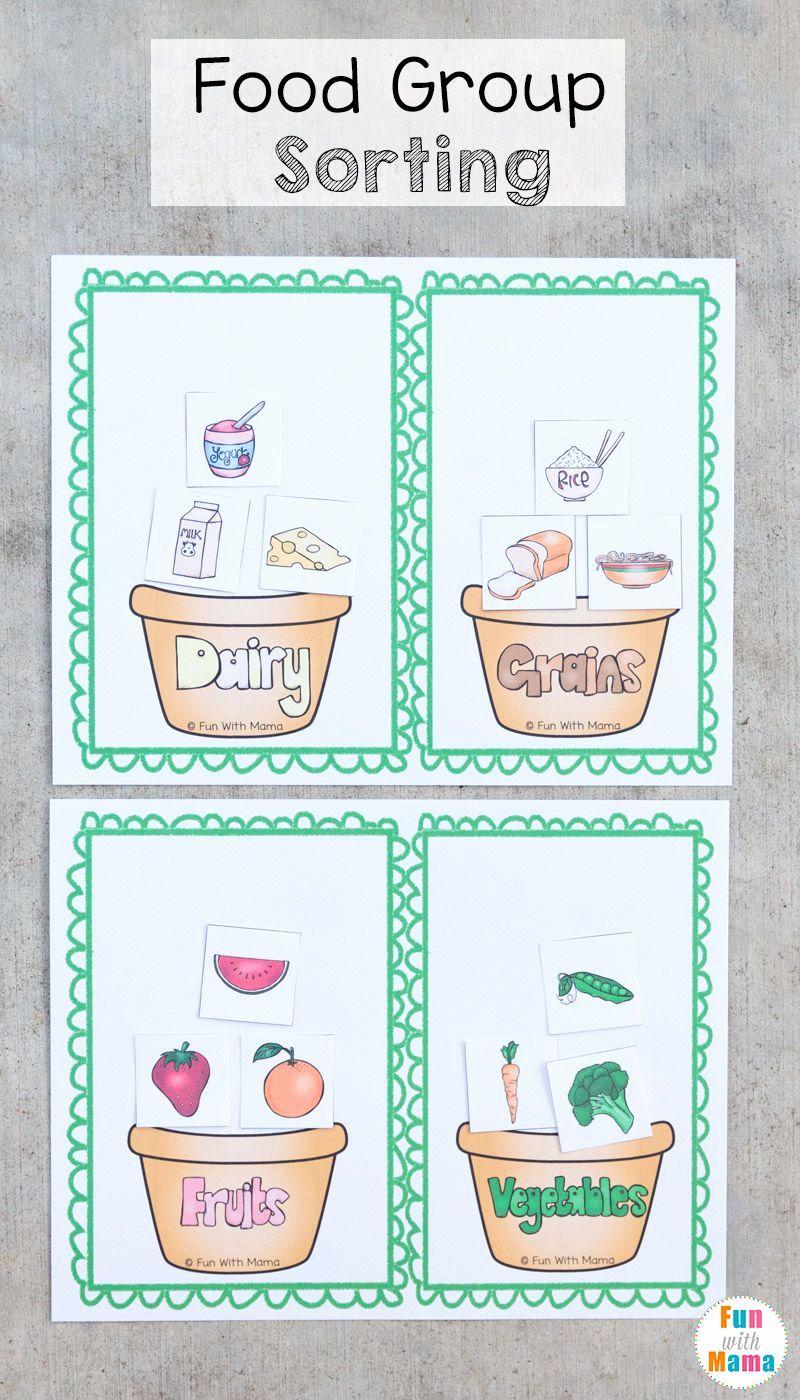 Food Pyramid Worksheet For Preschool Food Groups Preschool Group Meals Preschool Food [ 1400 x 800 Pixel ]