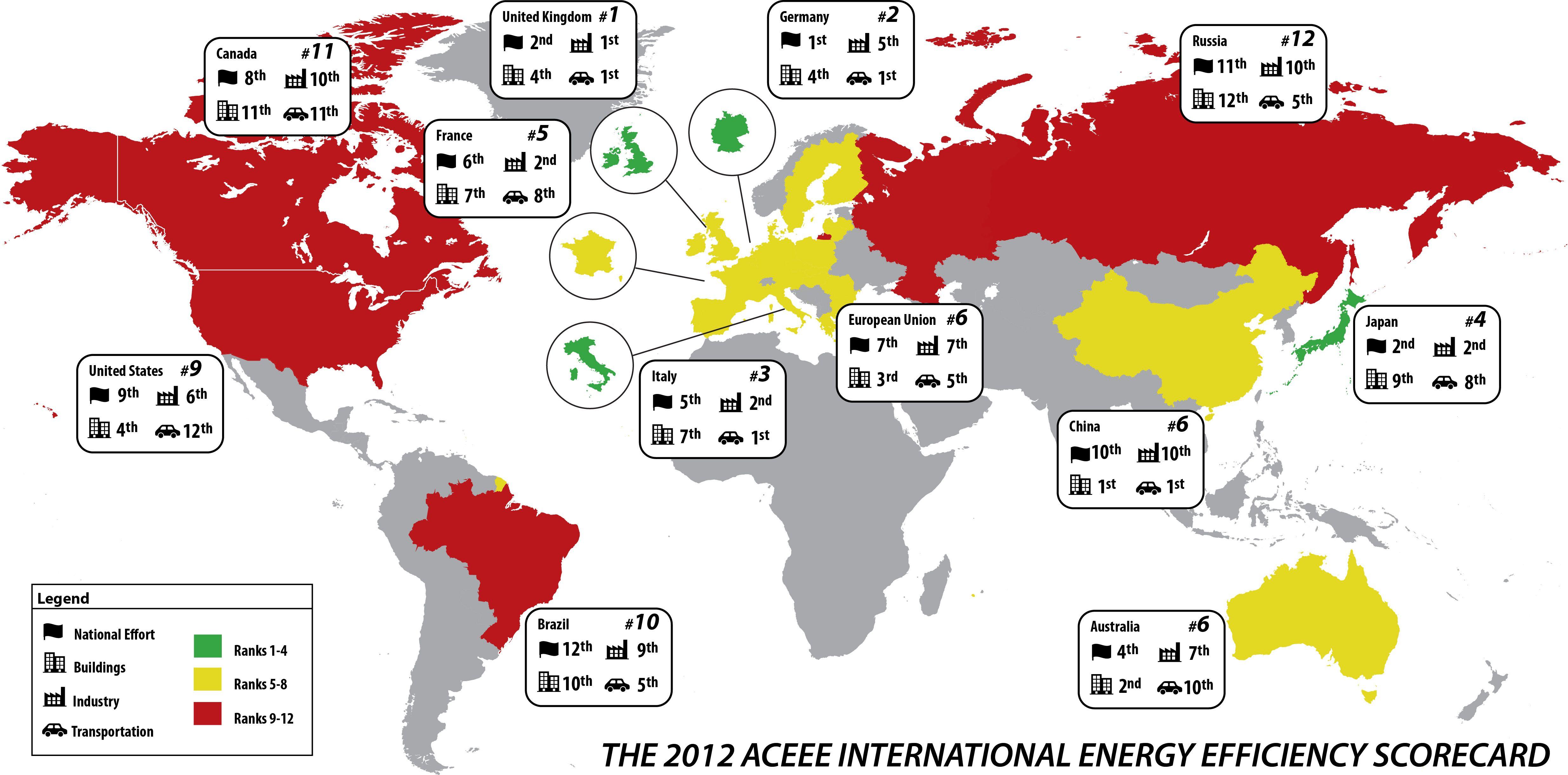 International Scorecard Map Jpg 4942 2443 Energy Efficiency Solar Energy Diy Energy