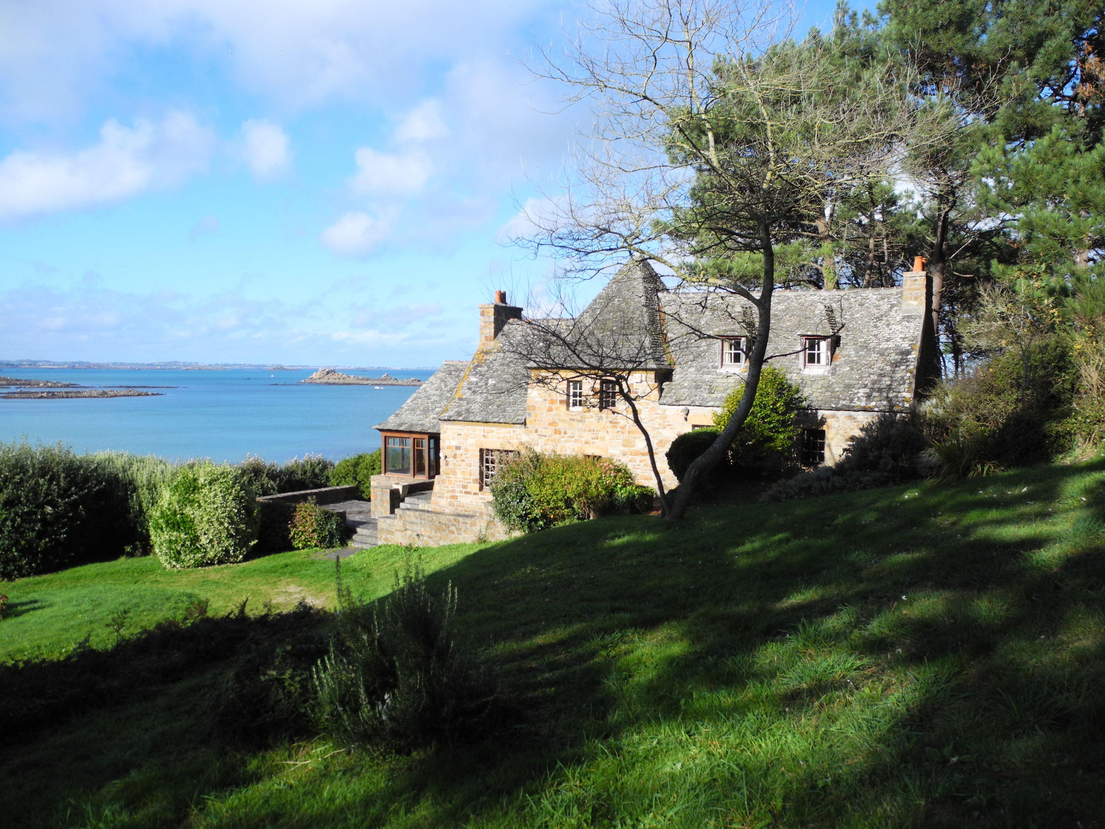 Vente Maison Les Pieds Dans L Eau Baie De Morlaix Immobilier Bretagne Vente Maison Morlaix