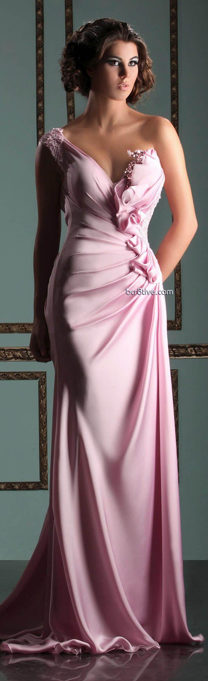 Mireille Dagher Spring Summer 2013 Ready to Wear | Rosas, Vestiditos ...
