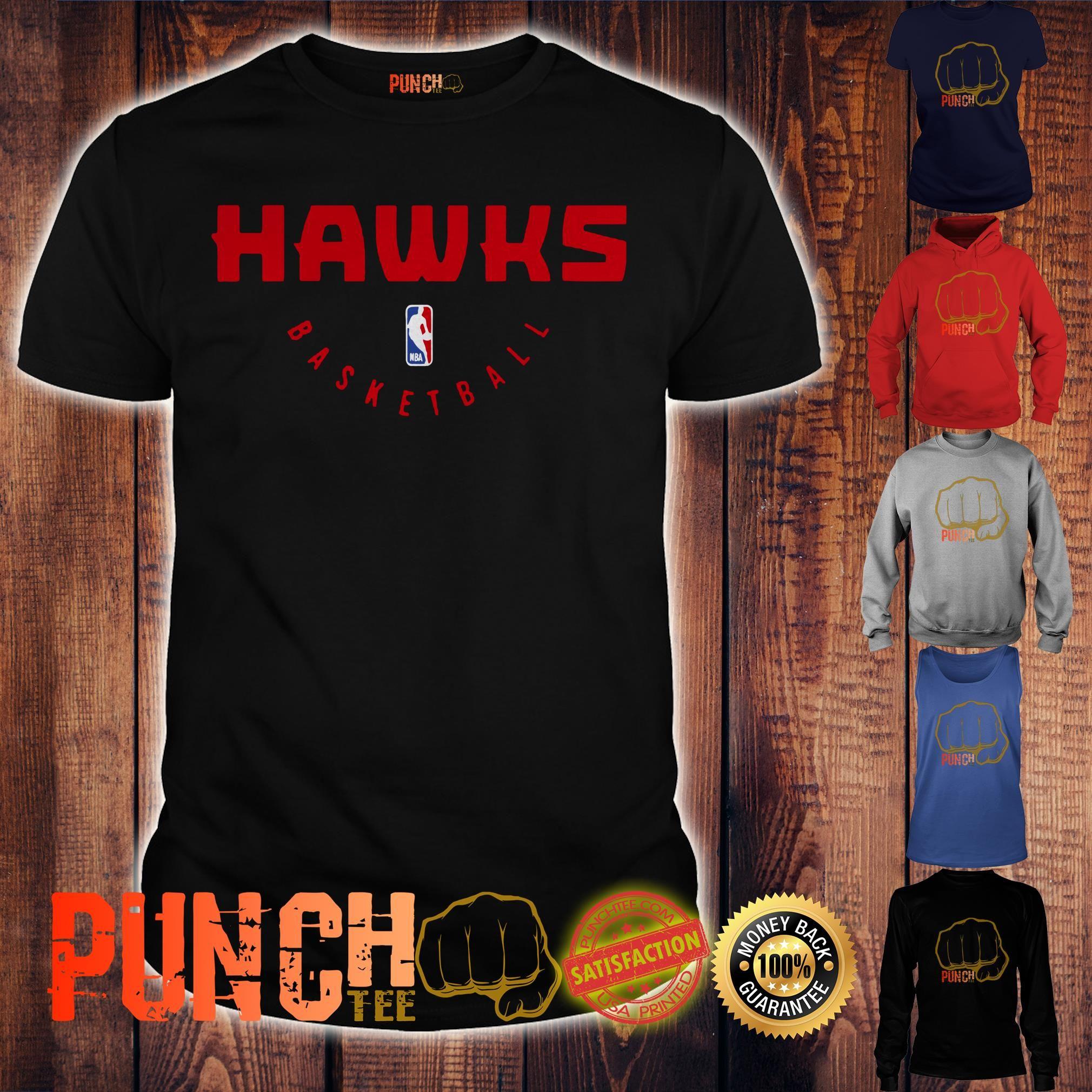(Free shipping) Atlanta Hawks Basketball NBA 2019 shirt