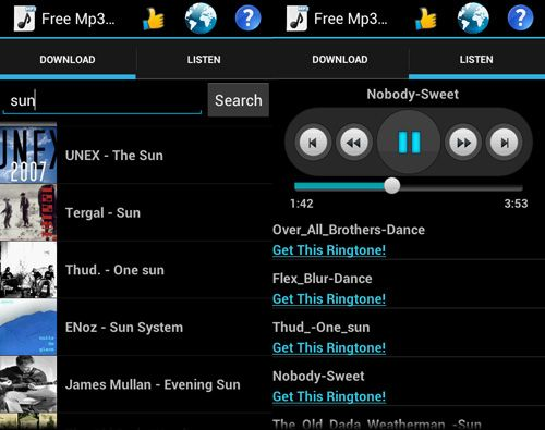 Top 5 Android Apps To Download and Play Free Music Free