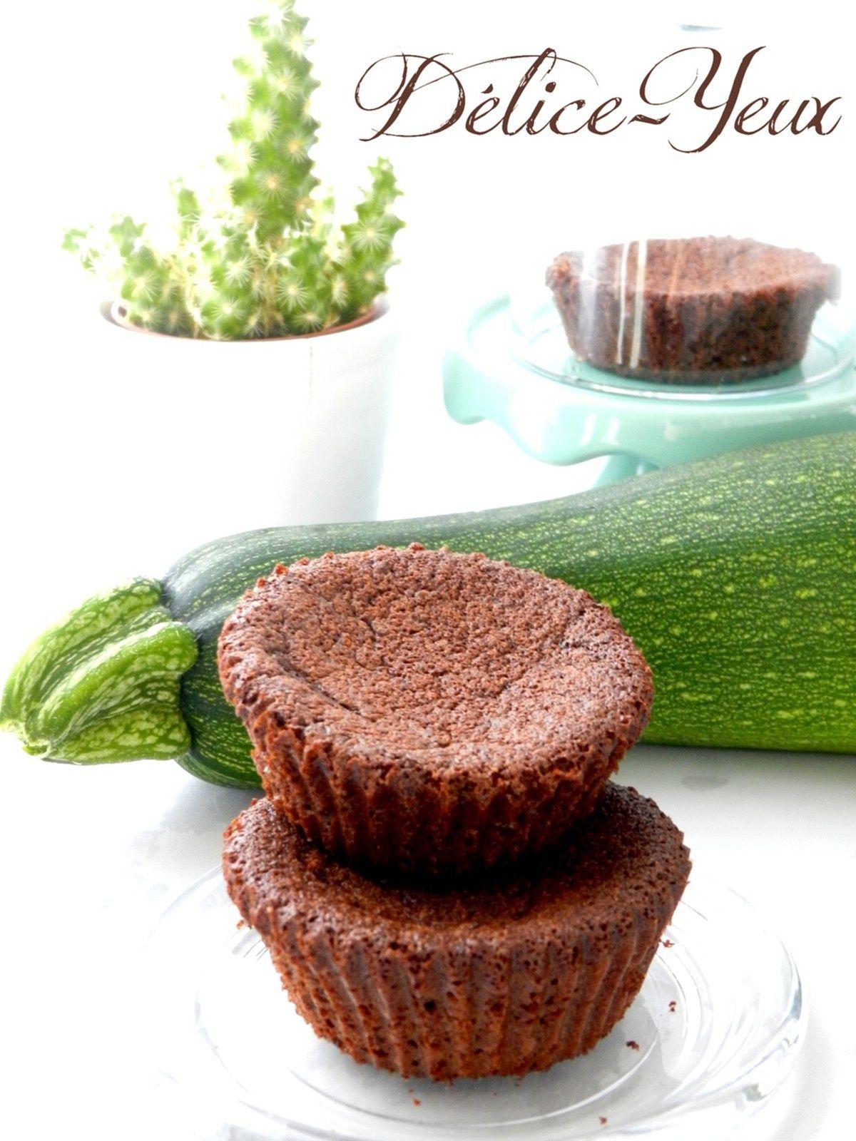 Mini gâteaux Chocolat &... Courgette ! {Sans beurre ...