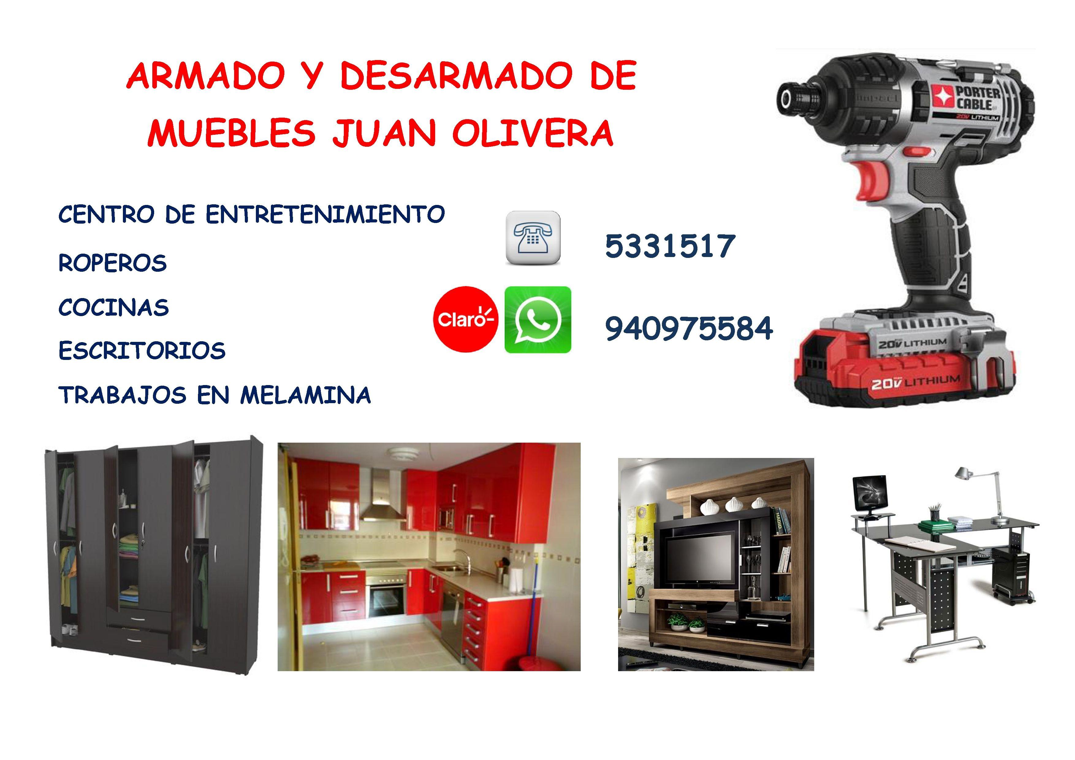 5331517 940975584 Realizamos Servicio De Armado O Desarmado De  # Muebles Oeschle