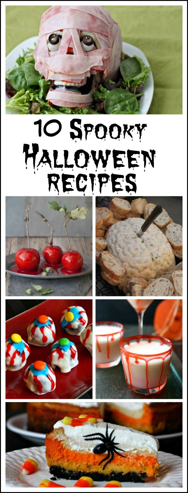 10 spooky halloween recipes meat brain eyeball truffles recipe brain dip recipe - Halloween Meat Recipes