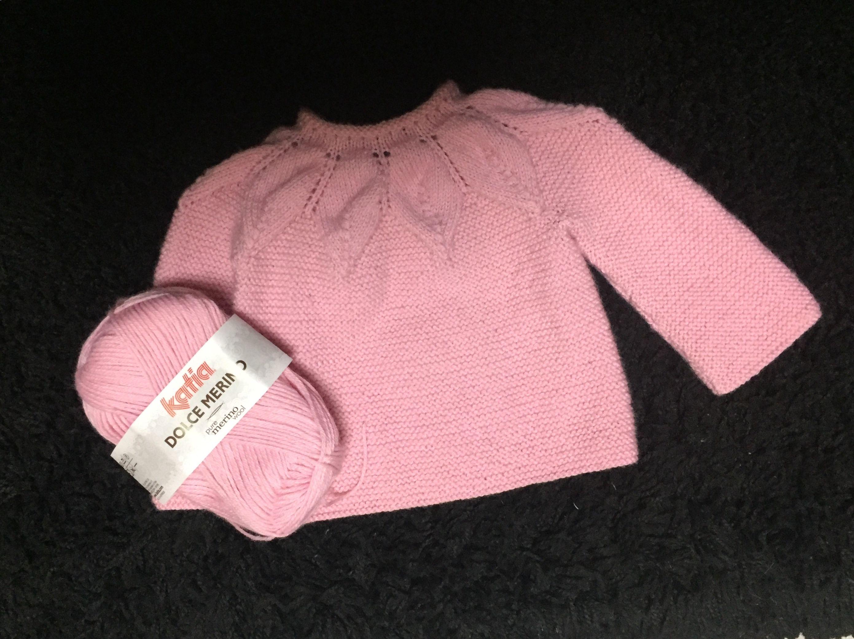 890d22c3f Jersey bebé hojas - Punto moderno