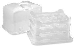 36 Cupcake Carrier Amusing Amazon Cupcake Courier 36Cupcake Plastic Storage Container Review