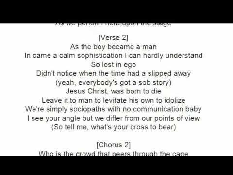 Avenged Sevenfold - The Stage lyrics