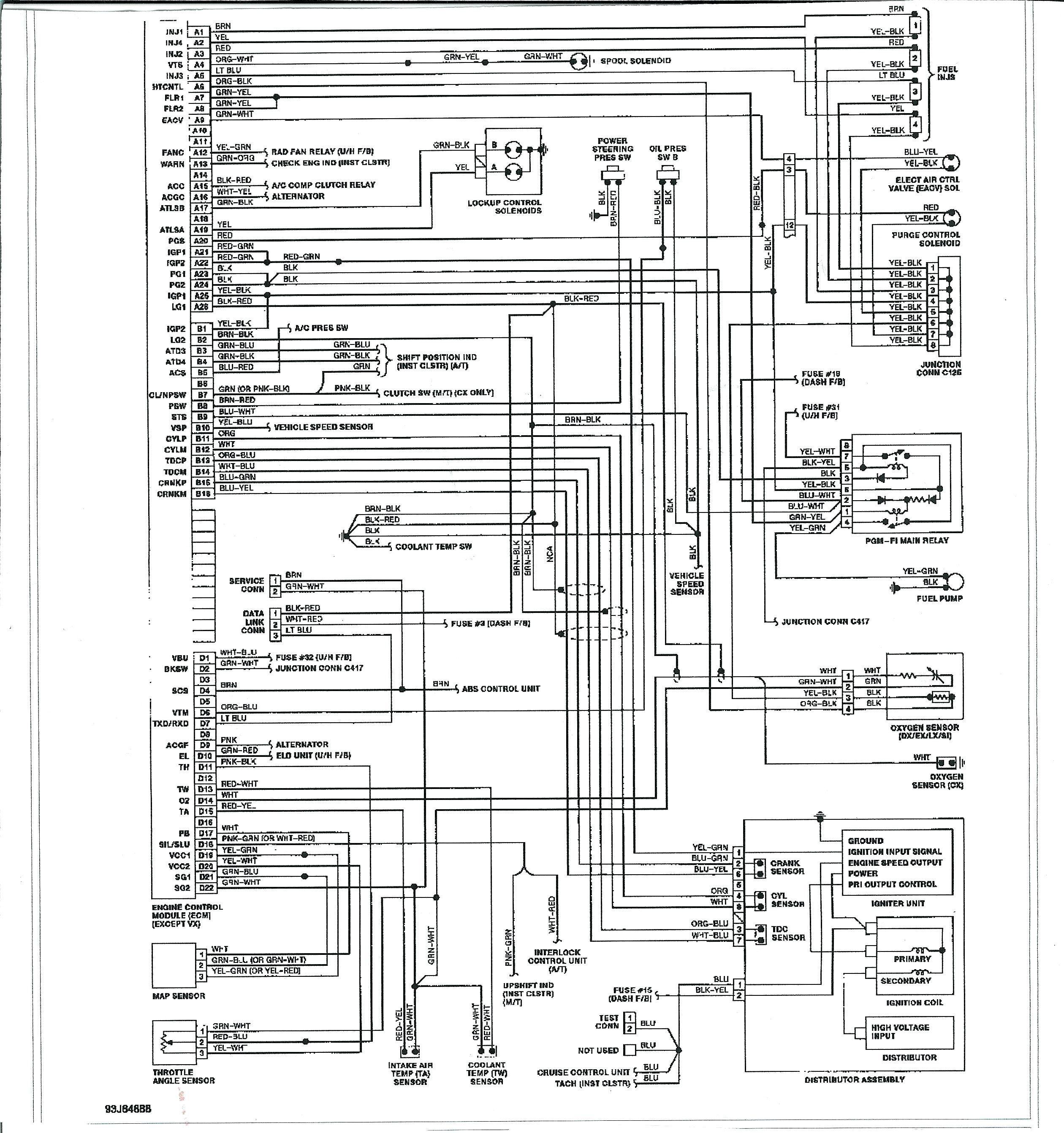 obd2 wiring diagram | toyota 4runner, honda civic, toyota  pinterest