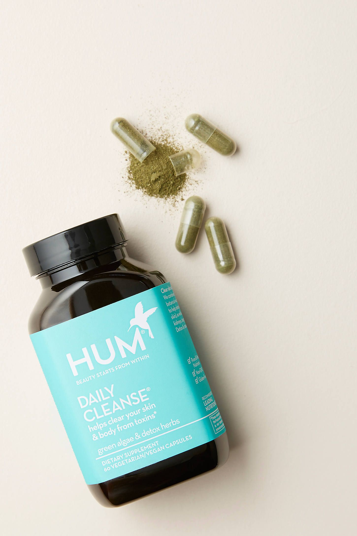 Hum Nutrition Daily Cleanse Supplements by HUM in Blue Size: All, Wellness at Anthropologie