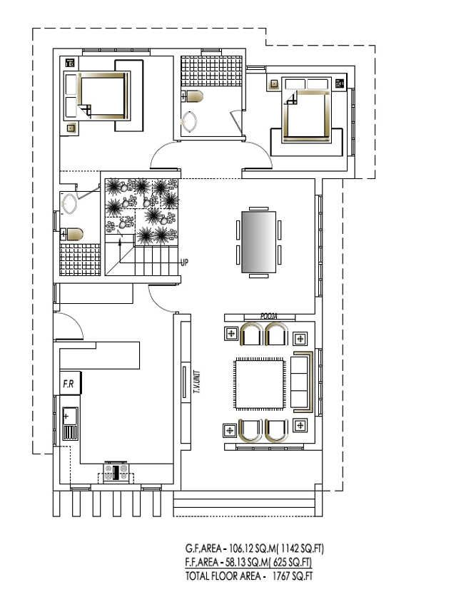 low cost house plans kerala lakh plan also best floor images in rh pinterest