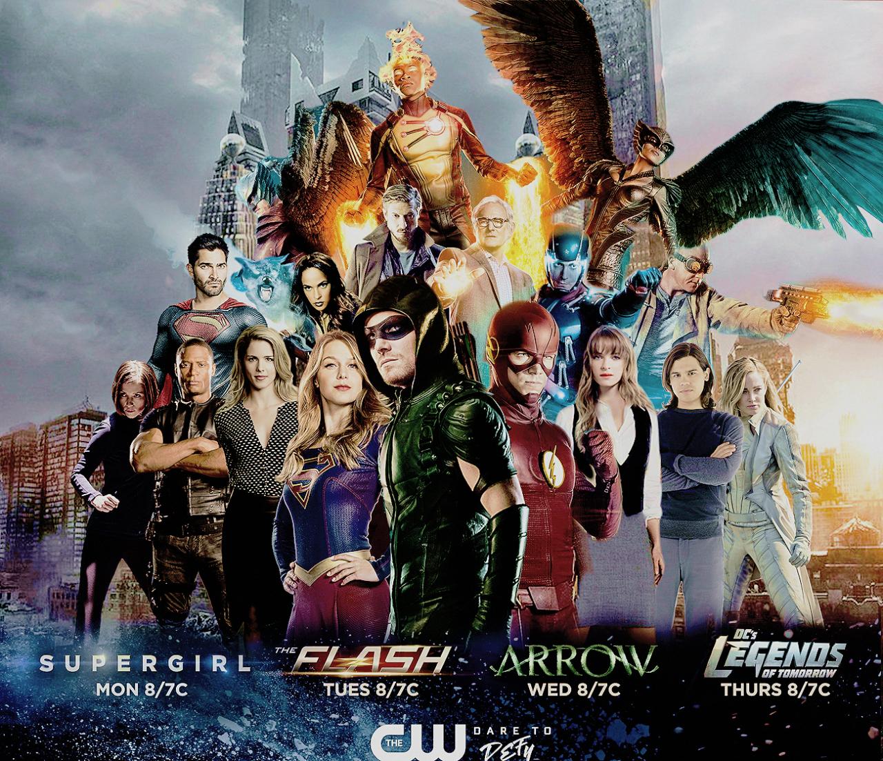 Crossover   Supergirl, The flash, Supergarota