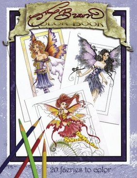 Amy Brown Coloring Book 20 Faeries To Color