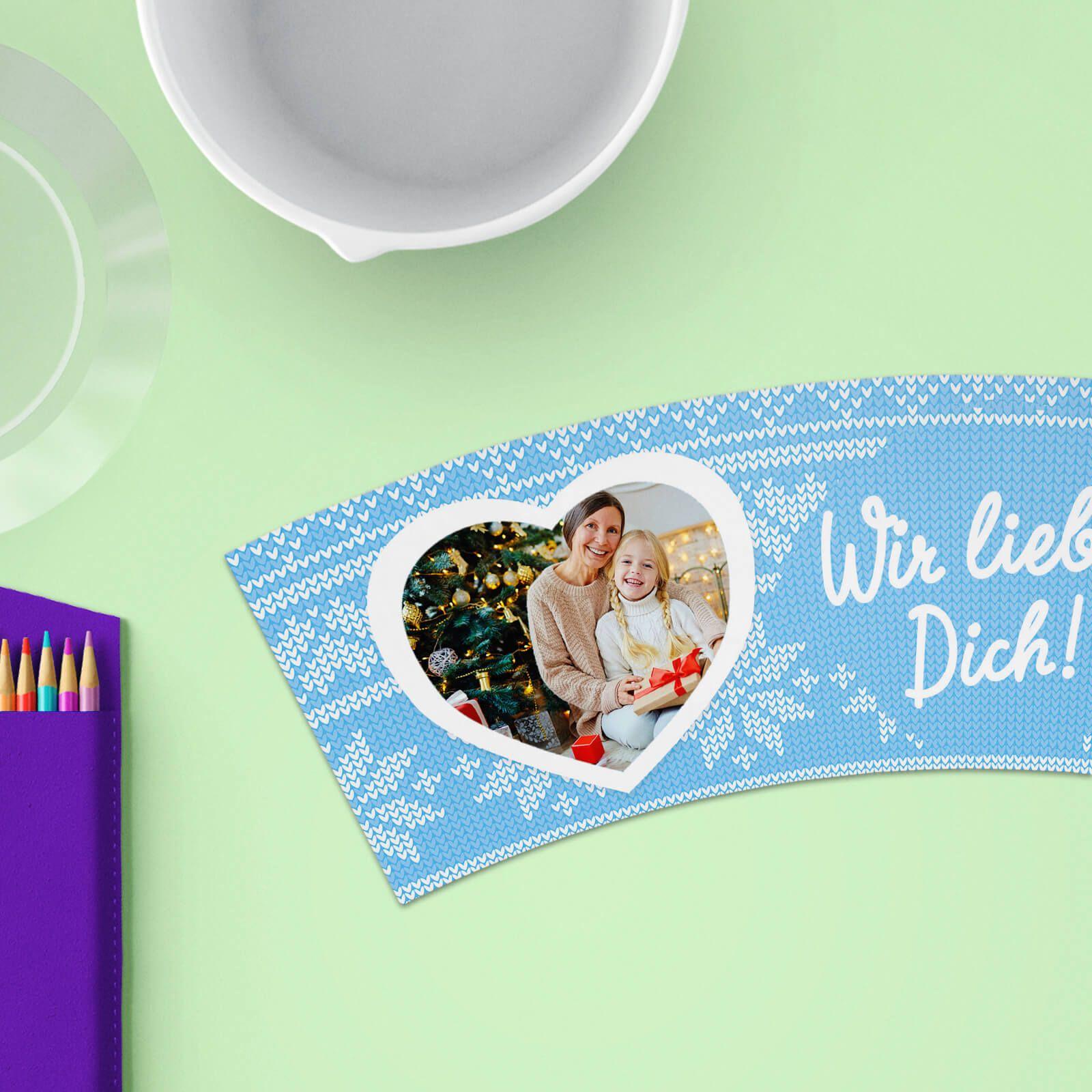 Wir Lieben Dich 🎅 Weihnachten Geschenke selber machen, mit diesem ...