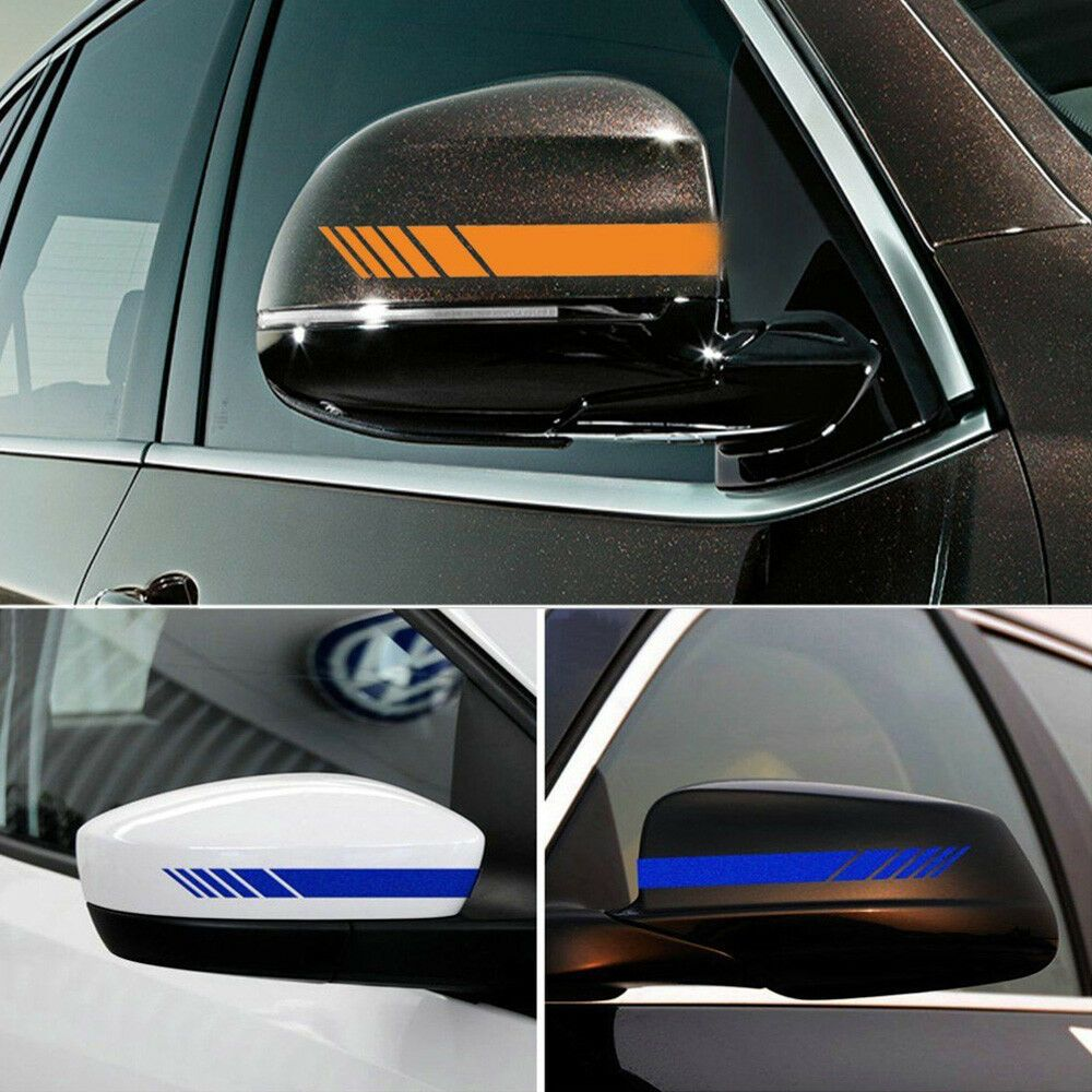 2pcs Car Auto Suv Vinyl Graphic Car Body Sticker Side Vinyl For Cars Cool Car Stickers Girly Car Decals [ 1000 x 1000 Pixel ]