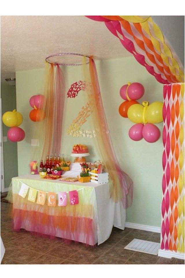 أفكار مبتكرة لتزيين منزلك في أعياد الميلاد Butterfly Themed Birthday Party Butterfly Birthday Party Butterfly Party