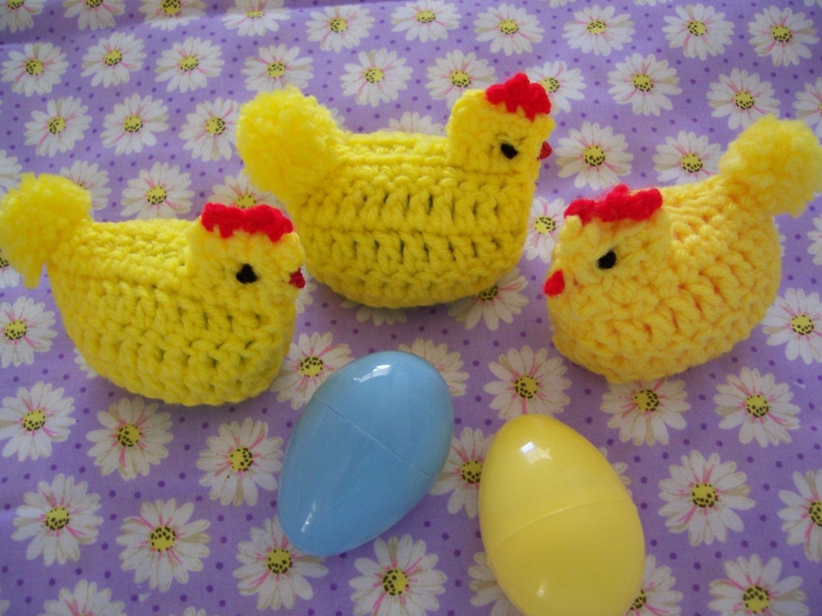 Easter Bunny and Chicks Amigurumi crochet pattern by TigerLilly ...