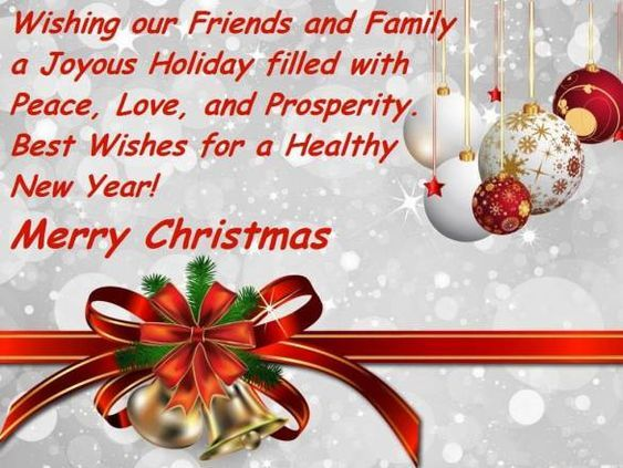 51+ Inspirational Merry Christmas Quotes And Sayings For Friends, Family  Members U0026 Business Buddies