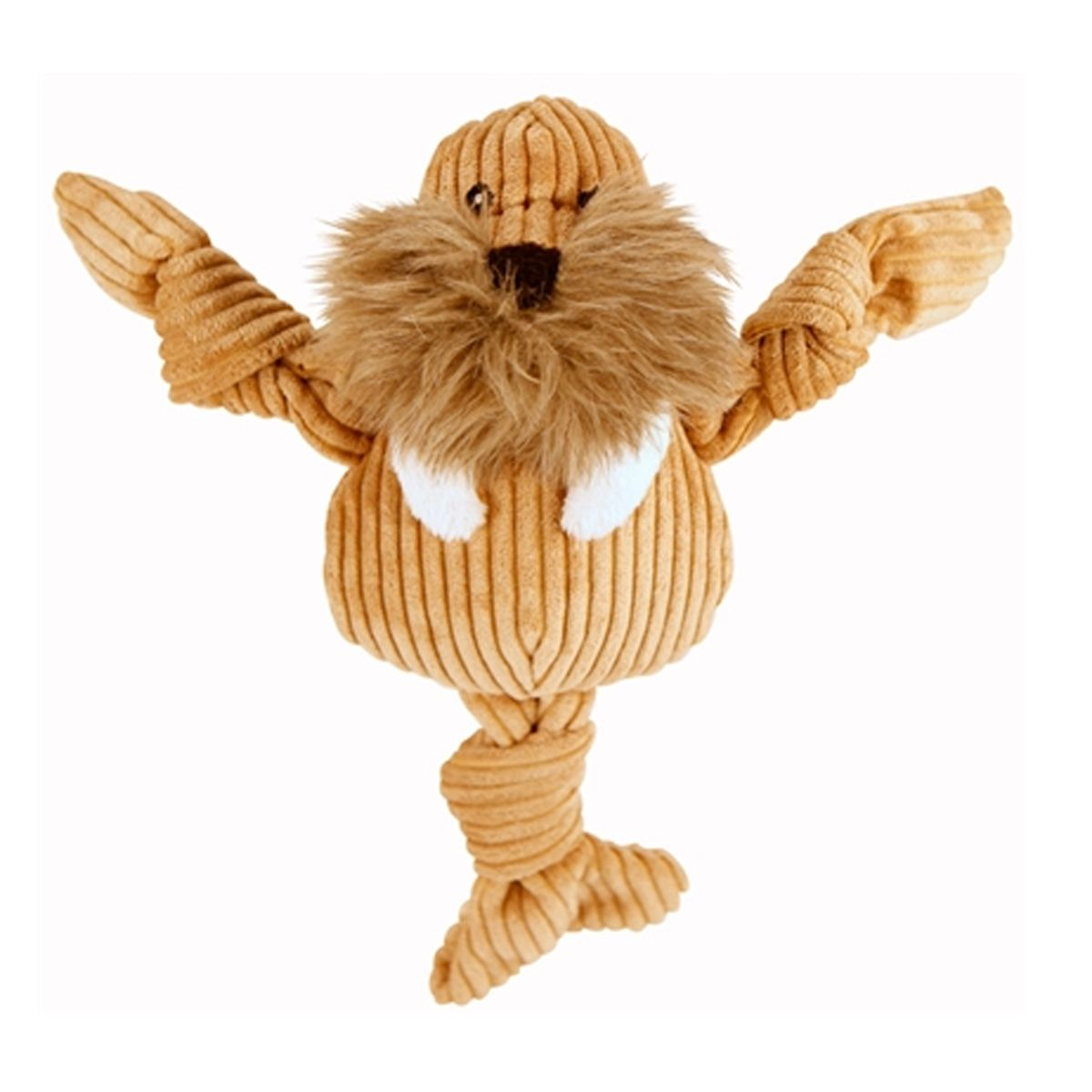 Hugglehounds Knotties Dog Toy Walrus Soft Toy Dog Durable Dog