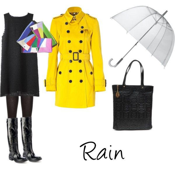 """""""Rain"""" by dionemoda on Polyvore"""