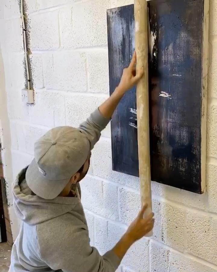 Video of Abstract Artist Rajan Seth London