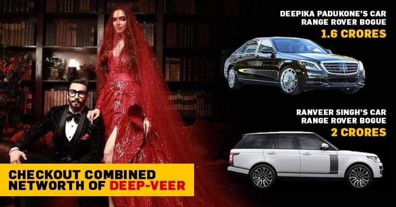 Now That Deepika And Ranveer Are Married Can You Guess Their Net Worth Check More At Https Trendsindia Net 2018 Deepika Padukone Ranveer Singh Range Rover