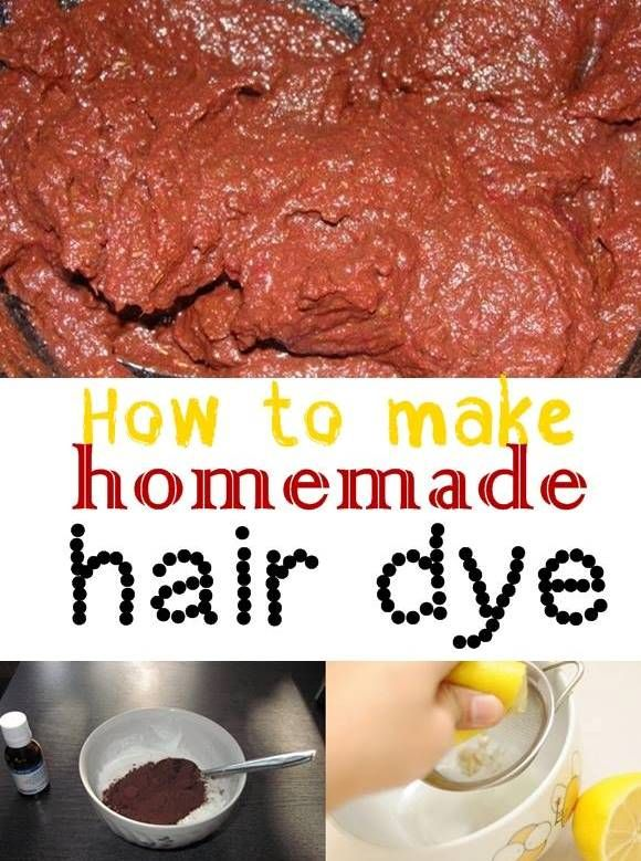 how to make hair dye obvious