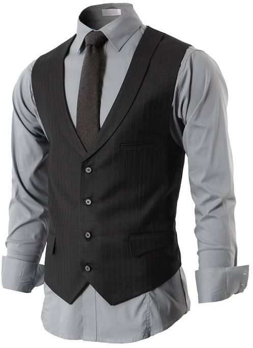 H2H Men s 4 Button Closer with Shawl Collar Suit Vest  H2H  HAVE2HAVE 7197c7b95f
