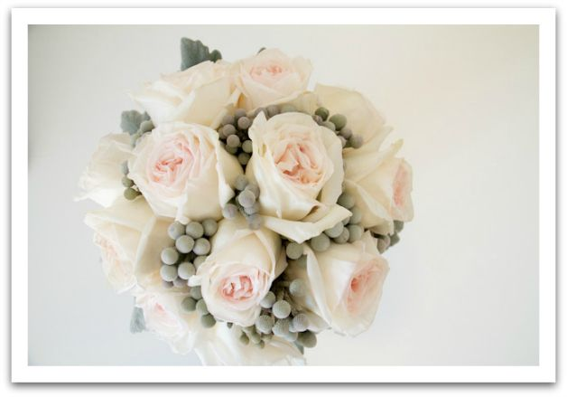 Gorgeous Garden Rose Wedding Bouquet by Living Fresh http://livingfresh.ca