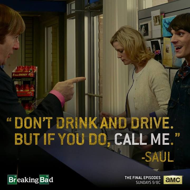 Breaking Bad Don drink and Drive