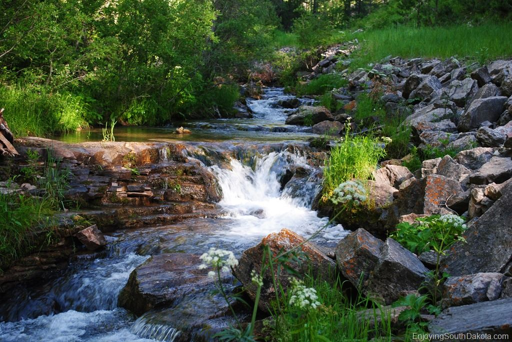 Hiking in Spearfish Canyon is much easier