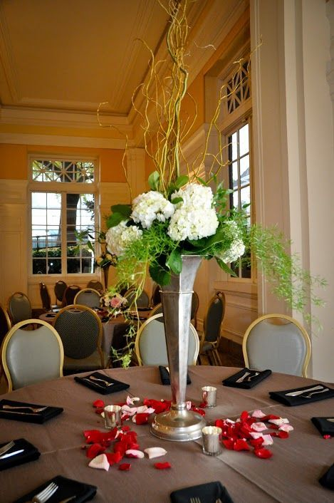 A great height for conversation between your guests. Photo by Krystina Stuart Photography