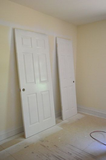 High Quality Priming And Painting Our Trim And Doors With A Paint Sprayer