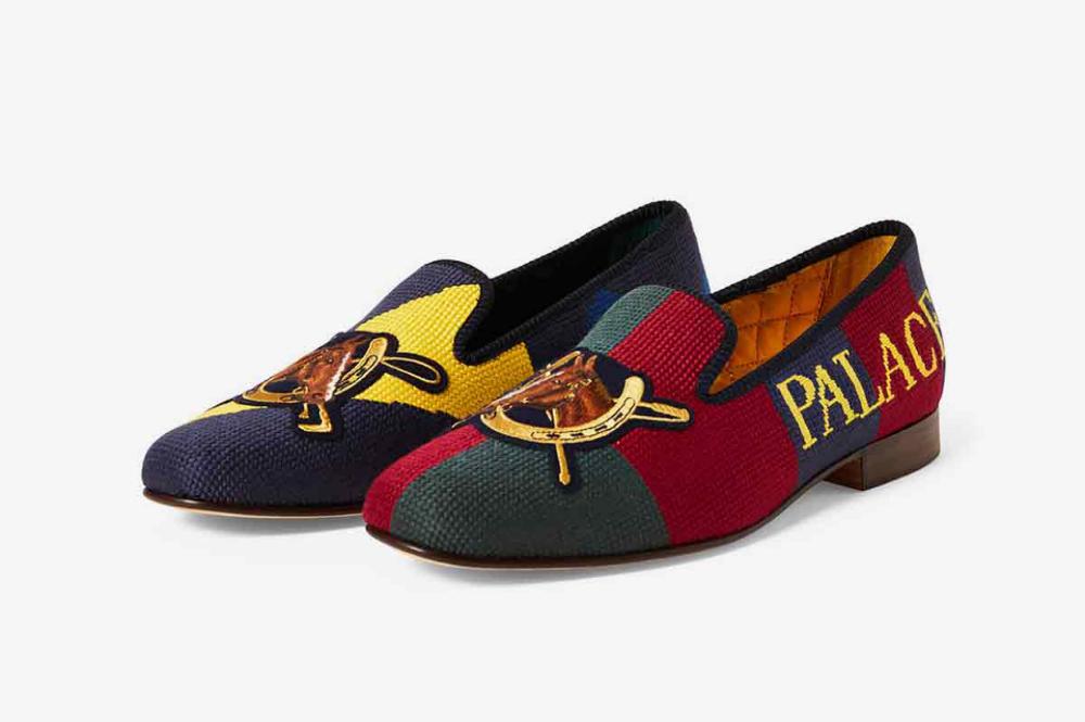 Palace Ralph Lauren Polo Formal Slipper
