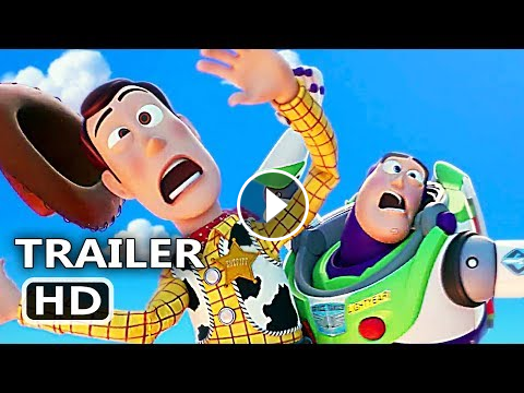 Toy Story 4 Official Trailer 2019 Disney Pixar Animated Movie Hd