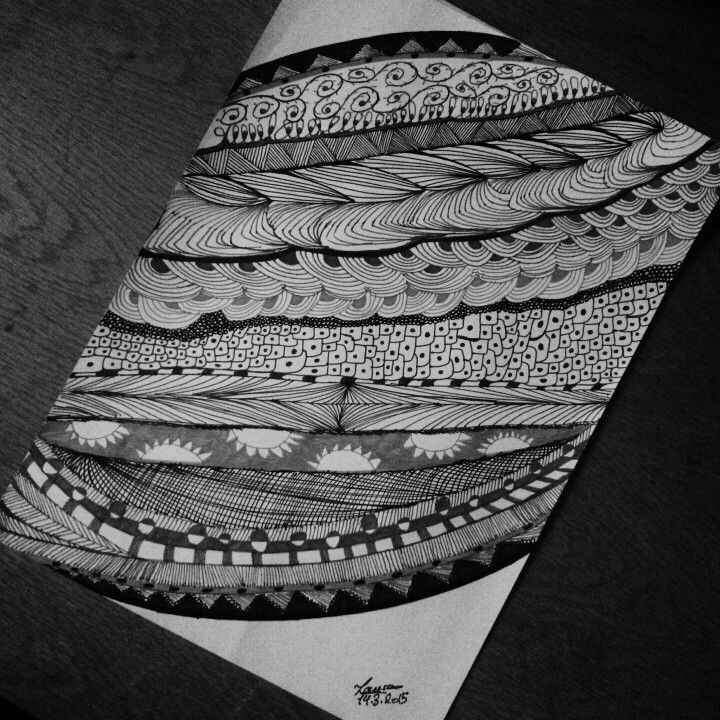 #zentangles #art_therapy #my_art #self_healing #black_white #lines #onestrokeatatime